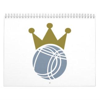 Boccia boule champion calendar