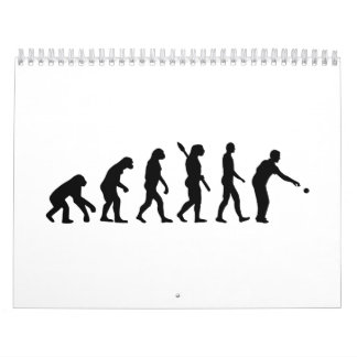 Boccia boule evolution calendar