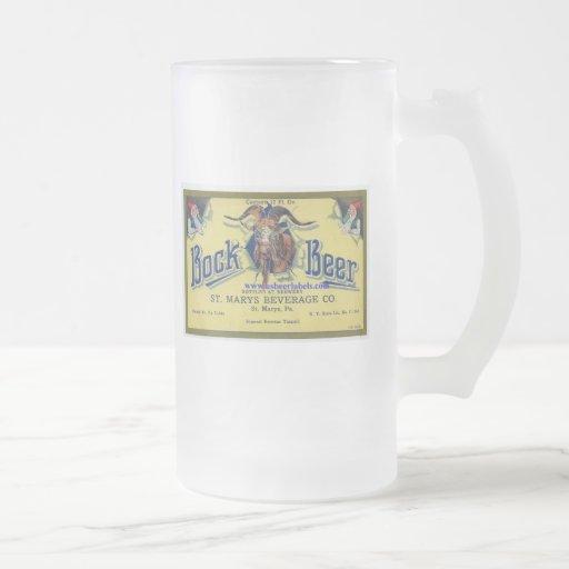 Bock Beer Coffee Mug