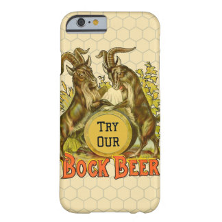 Bock Beer Goats Vintage Advertising Barely There iPhone 6 Case