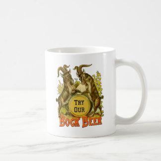 Bock Beer Goats Vintage Advertising Coffee Mug
