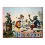 Bock Beer Postcards
