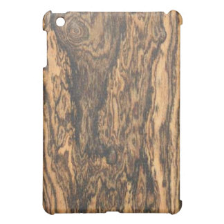 Bocote (wood) Finish iPad case