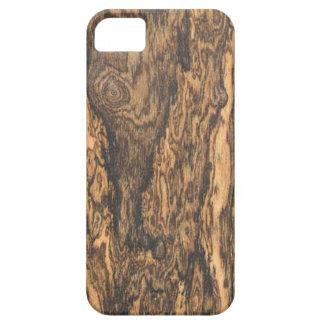 Bocote (wood) Finish iPhone 5 case