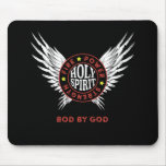 Bod By God Apparel -   Holy Spirit Fire Mouse Pad