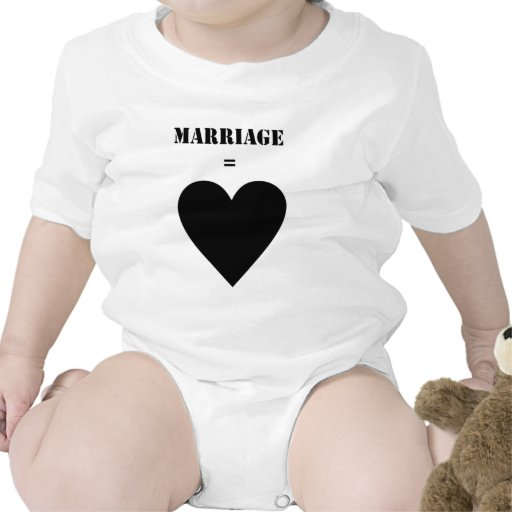 Boda = amor trajes de bebé
