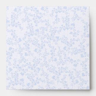 Boda azul lamentable del estilo del Victorian Sobres