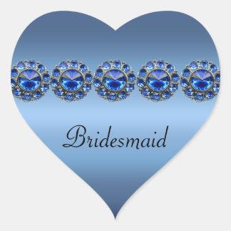 Boda Bejeweled azul helado