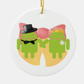 Boda Belces del traje del boda de Droids de dos in Ornamentos De Reyes