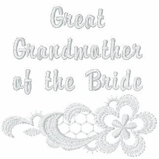 Boda blanco del cordón - bisabuela - novia