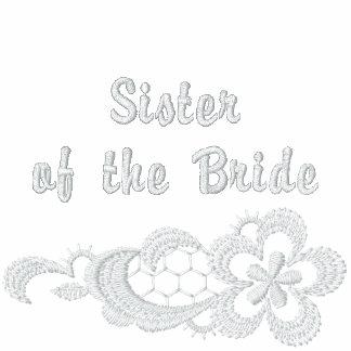 Boda blanco del cordón - hermana de la novia