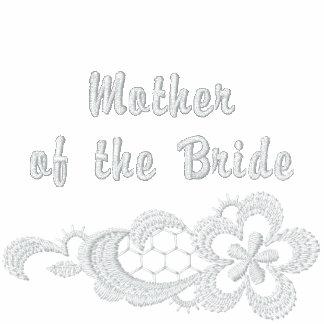 Boda blanco del cordón - madre de la novia