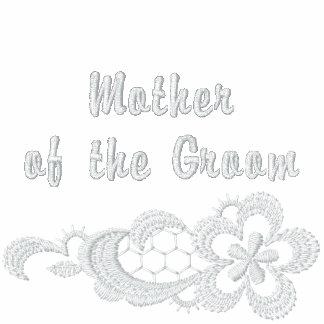 Boda blanco del cordón - madre del novio