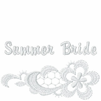 Boda blanco del cordón - novia del verano