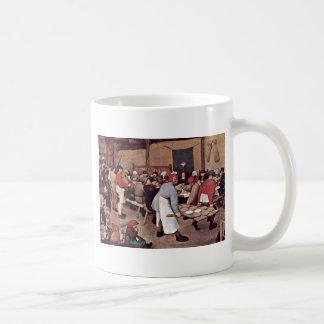 Boda campesino por Bruegel D. Ä. Pieter Taza De Café