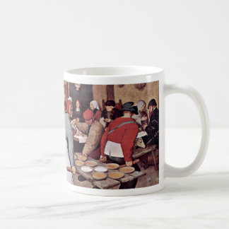 Boda campesino por Bruegel D. Ä. Pieter Tazas De Café