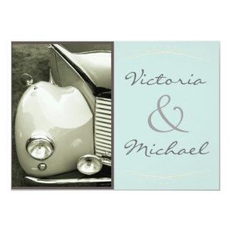 Boda clásico del motor del vintage comunicado
