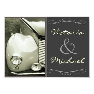 Boda clásico del motor del vintage anuncios