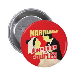 Boda: Comunismo para los pares Pins
