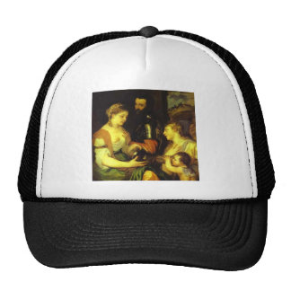 Boda con Vesta y Hymen por Titian Gorro