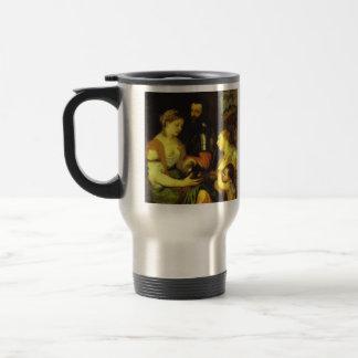 Boda con Vesta y Hymen por Titian Taza De Viaje De Acero Inoxidable