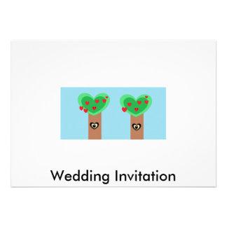 Boda de Eco Invitación Personalizada