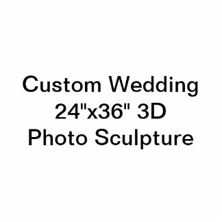 "Boda de encargo 24"""" escultura de la foto de 3D Esculturas Fotograficas"