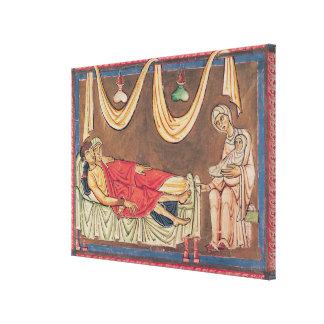 Boda de Hosea y de la prostituta Lona Envuelta Para Galerías