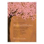 Boda de la acuarela de Sakura de la flor de cerezo Invitacion Personal