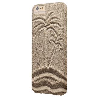 Boda de la arena de la playa de la isla del océano funda de iPhone 6 plus barely there