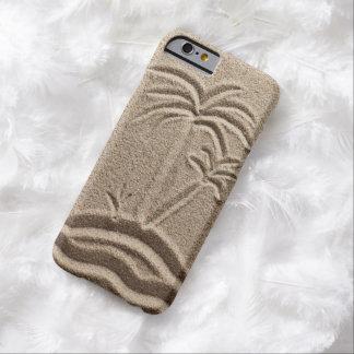 Boda de la arena de la playa de la isla del océano funda para iPhone 6 barely there