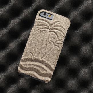 Boda de la arena de la playa de la isla del océano funda de iPhone 6 tough