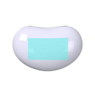 Boda de la parte alta azul del diseñador del chica frascos de dulces