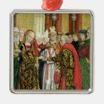 Boda de la Virgen, del altar de la bóveda, 1499 Ornato