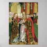 Boda de la Virgen, del altar de la bóveda, 1499 Impresiones