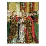 Boda de la Virgen, del altar de la bóveda, 1499 Postales