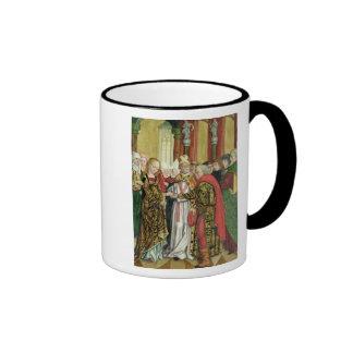 Boda de la Virgen, del altar de la bóveda, 1499 Taza De Café