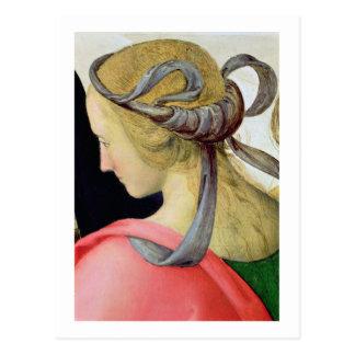 Boda de la Virgen, detalle que muestra uno de Postales