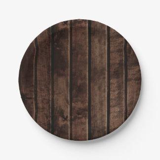 Boda de madera rústico