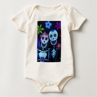 Boda de Muertos de los delos del diámetro de Te Body Para Bebé