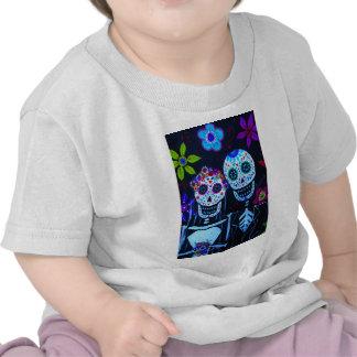 Boda de Muertos de los delos del diámetro de Te Camisetas