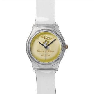 Boda de oro relojes de pulsera