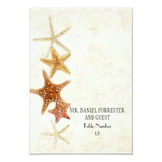 Boda de playa dominante griego de PatternStarfish Invitación 8,9 X 12,7 Cm