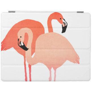 Boda de playa rosado de los flamencos cubierta de iPad