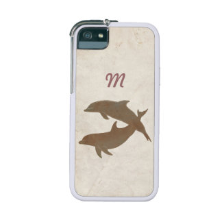 Boda de playa rústico de los delfínes