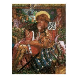 Boda de princesa Sabra Dante Rossetti de San Jorge Postal