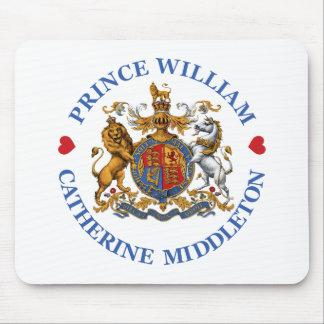Boda de príncipe Guillermo y Catherine Middleton Alfombrilla De Raton