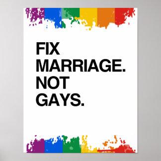 BODA DEL ARREGLO. NO GAYS IMPRESIONES