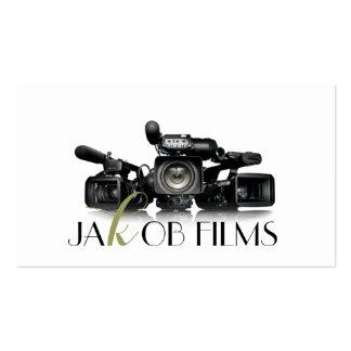 Boda del director de película de la cámara de tarjetas de visita
