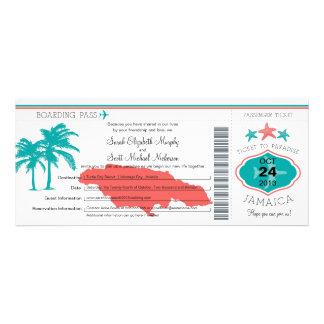 Boda del documento de embarque de Jamaica Comunicados Personales